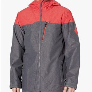 Volcom Ski and Snow Jacket size XS GRAY Coral